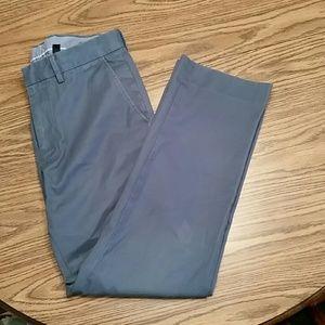 J crew classic fit chino pants, 30x30, blue